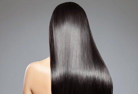 Cheveux lisses et soyeux